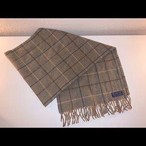Authentic Burberry's of London cashmere scarf